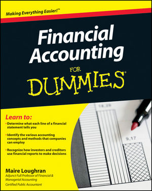 Financial Accounting For Dummies (1118063872) cover image