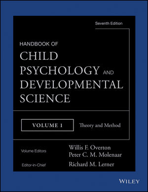 Handbook of Child Psychology and Developmental Science, Volume 1, Theory and Method, 7th Edition