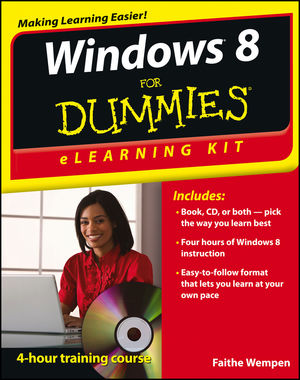 Windows 8 eLearning Kit For Dummies (1118202872) cover image