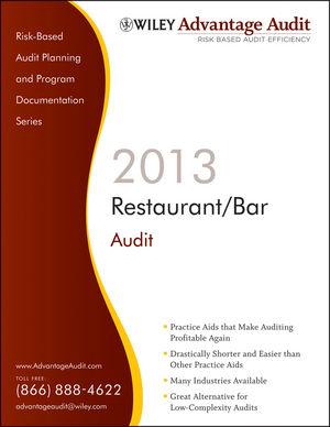 Wiley Advantage Audit 2013 - Restaurant/Bar