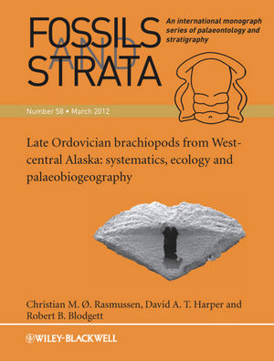 Late Ordovician Brachiopods from West-Central Alaska: Systematics, Ecology and Palaeobiogeography (1118384172) cover image