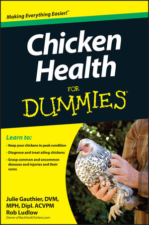 Chicken Health For Dummies (1118444272) cover image