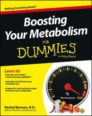 Boosting Your Metabolism For Dummies (1118491572) cover image