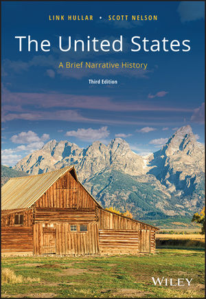The United States: A Brief Narrative History, 3rd Edition (1118806972) cover image