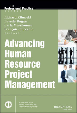 Advancing Human Resource Project Management (1118893972) cover image