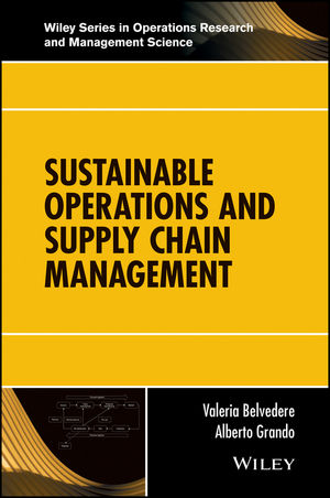 Sustainable Operations and Supply Chain Management (1119285372) cover image