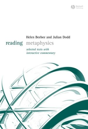 Reading Metaphysics: Selected Texts with Interactive Commentary (1405123672) cover image