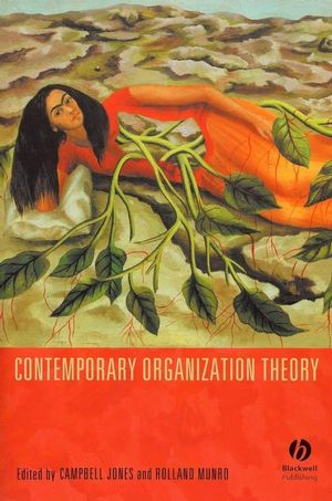 Contemporary Organization Theory (1405132272) cover image