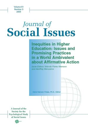 Inequities in Higher Education: Issues and Promising Practices in a World Ambivalent about Affirmative Action