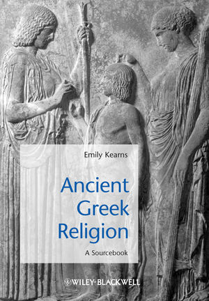Ancient Greek Religion: A Sourcebook (1405149272) cover image