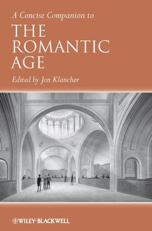 A Concise Companion to the Romantic Age (1444308572) cover image