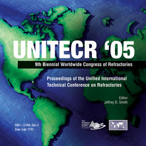 UNITECR '05: Proceedings of the Unified International Technical Conference on Refractories Set - Book and CD-ROM