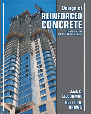 Design of Reinforced Concrete, 8th Edition (0470279273) cover image