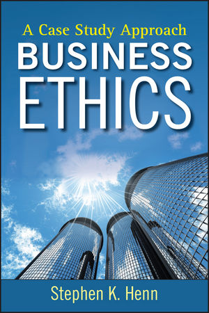 Business Ethics: A Case Study Approach (0470450673) cover image