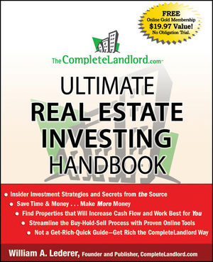 The CompleteLandlord.com Ultimate Real Estate Investing Handbook (0470455373) cover image
