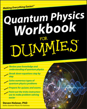Quantum Physics Workbook For Dummies (0470589973) cover image