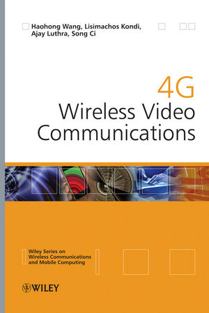 4G Wireless Video Communications (0470773073) cover image