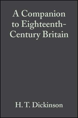 A Companion to Eighteenth-Century Britain (0470998873) cover image