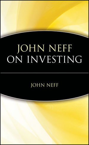 John Neff on Investing (0471197173) cover image