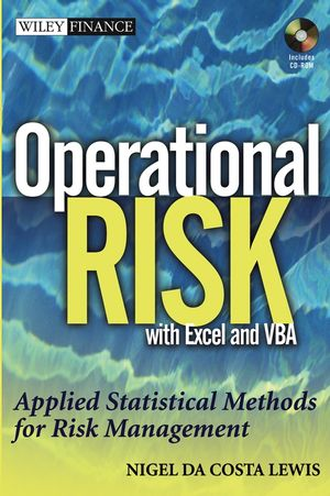Operational Risk with Excel and VBA: Applied Statistical Methods for Risk Management, + Website (0471478873) cover image