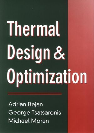 Thermal Design and Optimization (0471584673) cover image