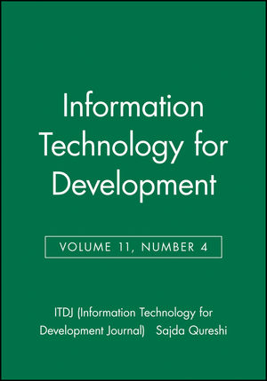 Information Technology for Development, Volume 11, Number 4