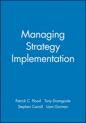 Managing Strategy Implementation (0631217673) cover image