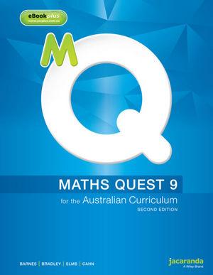 Maths Quest 9 for the Australian Curriculum & eBookPLUS, 2nd Edition