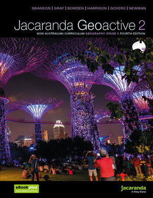 Jacaranda Geoactive 2 NSW Curriculum Geography Stage 5 4E learnON & Print