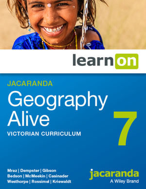Jacaranda Geography Alive 7 Victorian Curriculum LearnOn (Online Purchase)