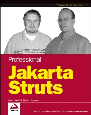 Professional Jakarta Struts (0764544373) cover image