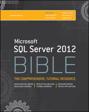 Microsoft SQL Server 2012 Bible (1118106873) cover image