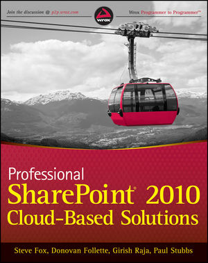 Professional SharePoint 2010 Cloud-Based Solutions (1118229673) cover image