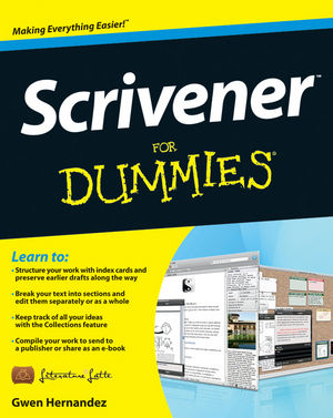 Book Cover Image for Scrivener For Dummies