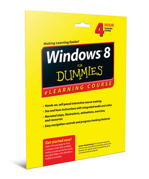 Windows 8 For Dummies eLearning Course Access Code Card (6 Month Subscription) (1118468473) cover image