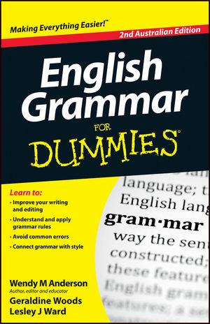 English Grammar For Dummies, 2nd Australian Edition