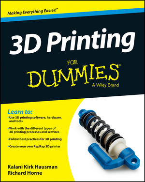 3D Printing For Dummies (1118660773) cover image