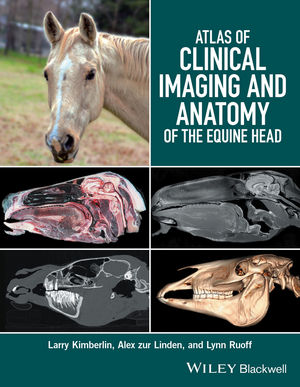 Atlas of Clinical Imaging and Anatomy of the Equine Head (1118988973) cover image
