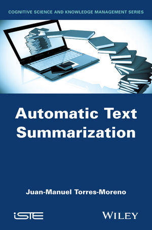 Automatic Text Summarization (1119044073) cover image