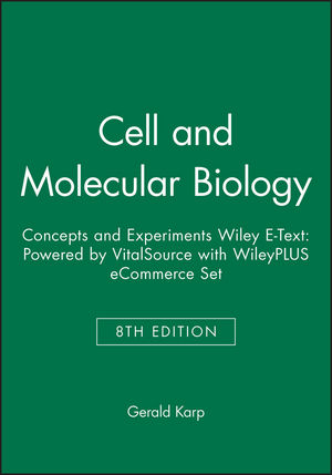 Cell and Molecular Biology: Concepts and Experiments, 8e Wiley E-Text: Powered by VitalSource with WileyPLUS eCommerce Set (1119368073) cover image