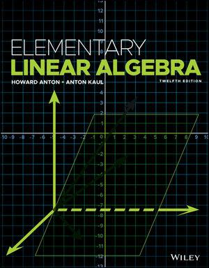 Elementary Linear Algebra, 12th Edition