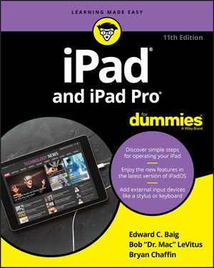 iPad and iPad Pro For Dummies, 11th Edition