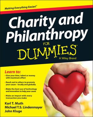 Charity and Philanthropy For Dummies (1119941873) cover image