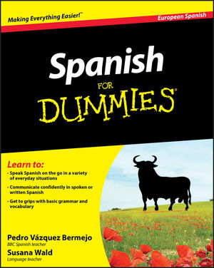 Spanish For Dummies, Enhanced Edition (1119976073) cover image