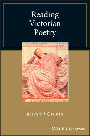 Reading Victorian Poetry (1444354973) cover image