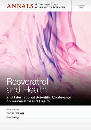 Resveratrol and Health: 2nd International Conference on Resveratrol and Health, Volume 1290