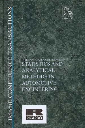 International Conference on Statistics and Analytical Methods in Automotive Engineering (1860583873) cover image