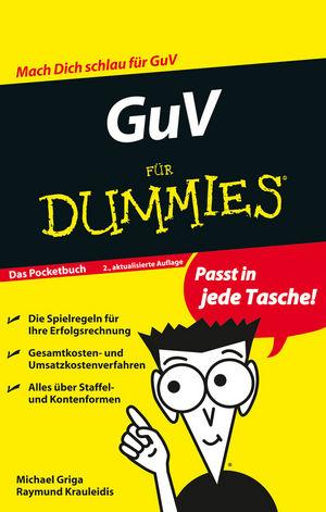 GuV für Dummies, Das Pocketbuch, 2. Auflage (3527678573) cover image