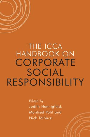 The ICCA Handbook of Corporate Social Responsibility (0470057874) cover image
