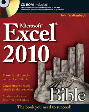 Excel 2010 Bible (0470474874) cover image